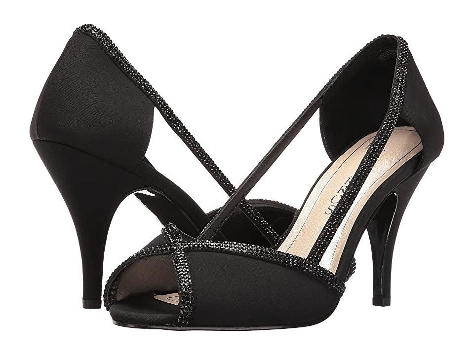 Caparros Faith (Black Faille) High Heels