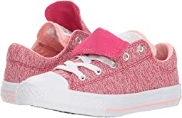 4c5b3ab2b7c Pink Pop Storm Pink White. Converse Kids. Chuck Taylor® All Star® Maddie -  Ox (Little Kid Big ...