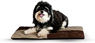 K&H Pet Products Quilted Memory Dream Pad 2-Inch - Orthopedic Memory Foam Dog Bed