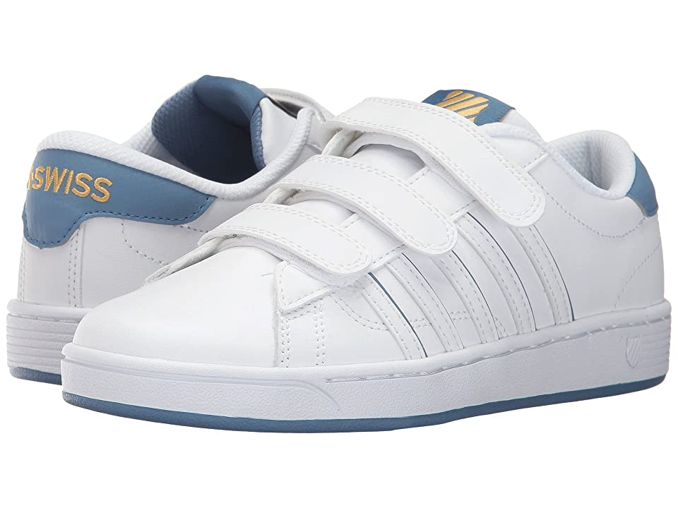 K-Swiss Hoke 3-Strap SP CMF (White/Coronet Blue/Gold) Women