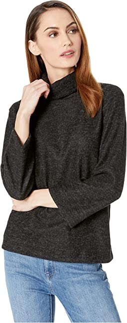 Brush Long Sleeve Turtleneck Top