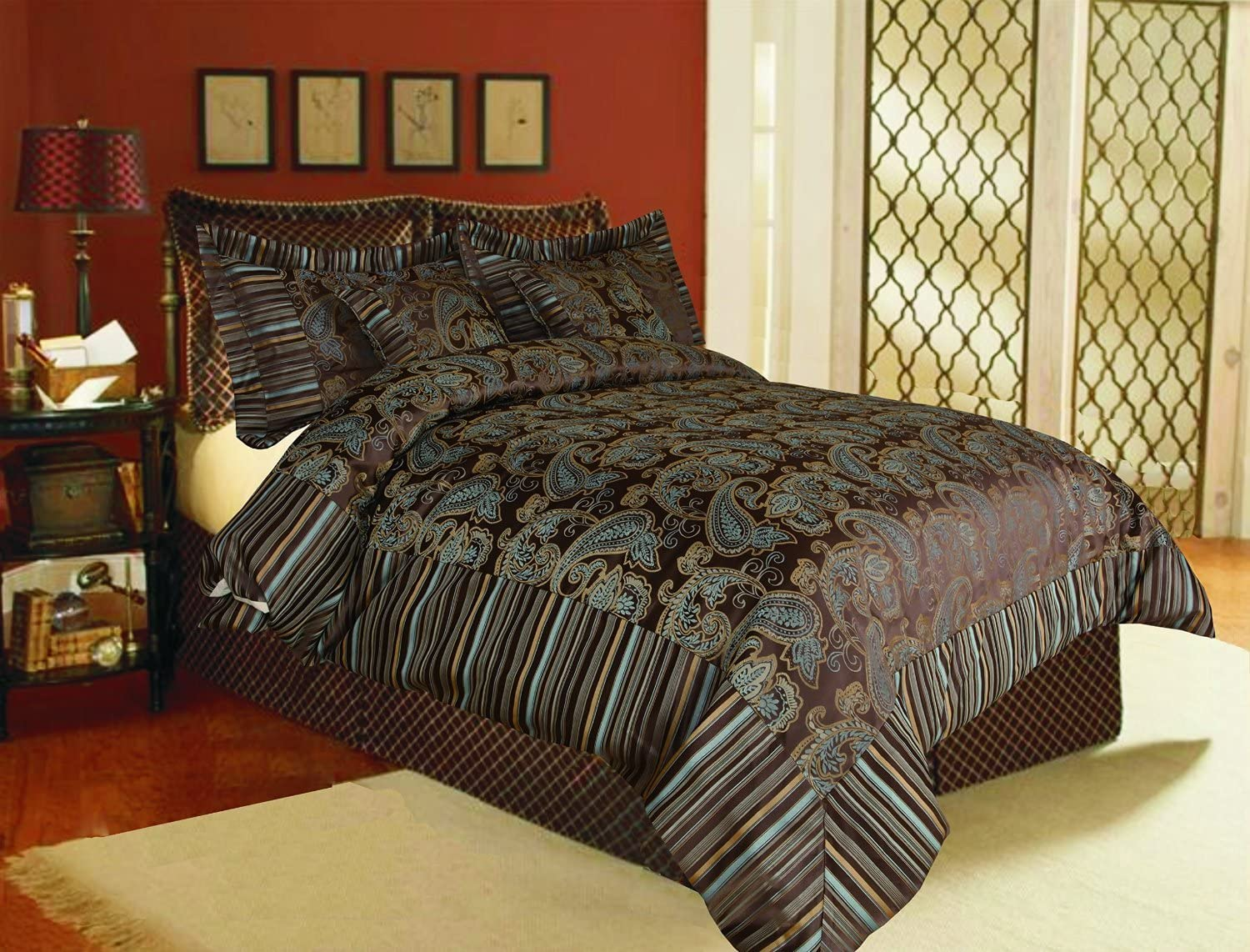 Tache Home Fashion Eastern High quality new Indefinitely Comforter Spring Heavyweight Chenille