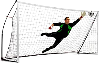 QuickPlay Kickster Academy Soccer Goal Range – Ultra Portable Soccer Goal Includes Soccer Net and Carry Bag [Single Goal] Now Available in The US for The First Time.