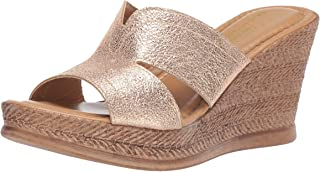 Easy Street Women's Tuscany Marsala Wedge Sandal