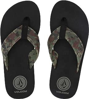 Volcom Mens DAYCATION FLIP Flop Sandal-M Daycation Flip Flop Sandal