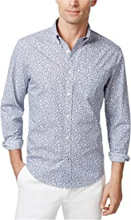 Tommy Hilfiger Mens Ditsy Button Up Shirt