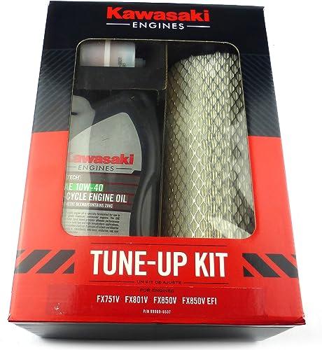 high quality Kawasaki 99969-6537 Tune Up Kit new arrival for FX751V FX801V FX850V discount Carb EFI Engines 10W40 outlet sale