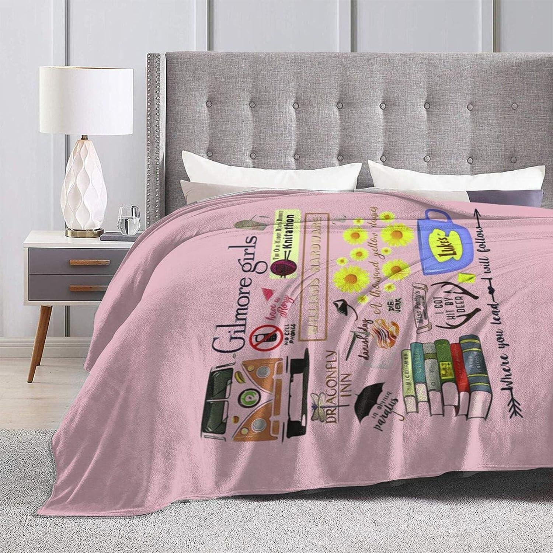 AHJOBOY Gilmore Girl 2 Fleece Blanket Throw Blanket Machinewash Bed Throw Blanket Gift for Bedroom Living Room Couch 50x40
