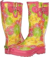 Crazy Citrus Rain Boot