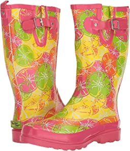 Crazy Citrus Rain Boot