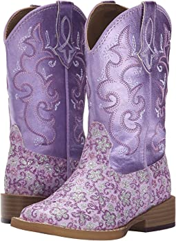 Roper Kids - Lavender Square Toe Boot (Toddler/Little Kid)
