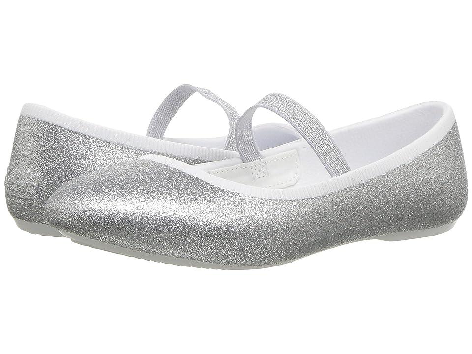 9a19d8d5ecc Native Kids Shoes Margot Bling (Little Kid) (Silver Bling) Girls Shoes