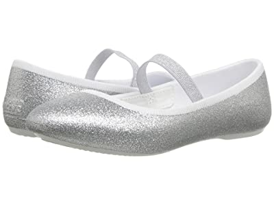 Native Kids Shoes Margot Bling (Little Kid) (Silver Bling) Girls Shoes