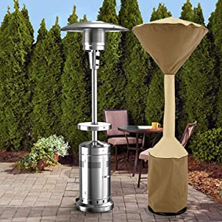 3PACK Outdoor Garden Patio Gas Heater Cover Protector Polyester Waterproof Black
