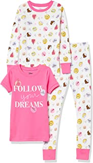 Spotted Zebra Disney Star Wars Marvel Frozen Princess-Pijama de algodón Ajustado Niñas