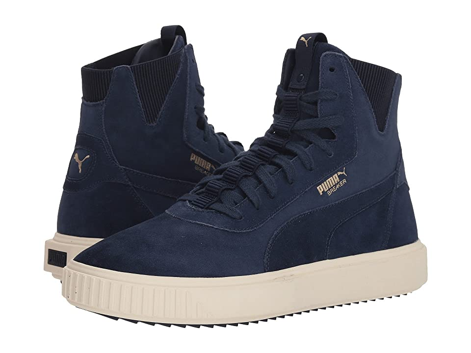 PUMA Breaker Hi (Peacoat/Whisper White) Men