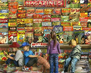 Springbok's 1000 Piece Jigsaw Puzzle Comic Book Heaven - Made in USA