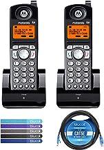 $106 » Motorola ML25055 2-Line DECT 6.0 Cordless Handsets (2-pk) for RCA 25255RE2/25270RE3/25260 and Motorola ML25212/ML25252/ML2...