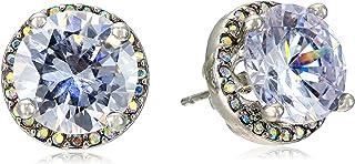 Crystal Stud Medium Earrings