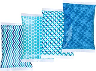 Thrive Ice Pack for Lunch Boxes – 4 Reusable Packs – Keeps Food Cold – Cool..
