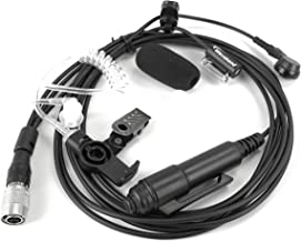 Three Wire Surveillance Kit Motorola OEM RLNN5880 3-Wire Surveillance Kit with Hirose Connector. WB# WV1-15022XX