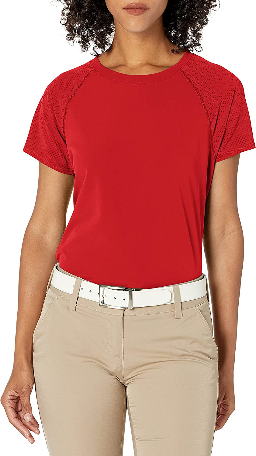 Cutter Buck Women's Max 67% OFF Short Sleeve Perforated Active Response Cr Now on sale