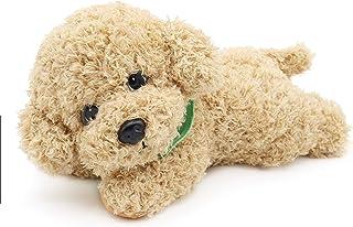 Oitscute Simulation Poodle Dog Stuffed Animal Soft Plush Puppy Toys (Yellow 11
