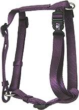 (Medium, 1.9cm x 5.1cm - 7.6cm , Plum) - Hamilton Adjustable Comfort Dog Harness Fits Chest Size 30 to 100cm with Brushed Hardware Ring