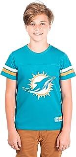 Majestic Miami Dolphins Skill in Motion Mens Aqua Shirt Big /& Tall Sizes 3XT