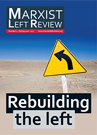 Marxist Left Review 1