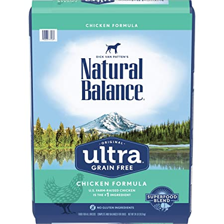 Natural Balance Original Ultra Dry Dog Food for All Life Stages, Chicken, Grain-Free