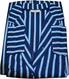 Ragno Pigiama Donna Completo 4 Pezzi Giacca Aperta M/L Pantalone Lungo E Corto Canotta S/S Fantasia GESSATA Blu'/Azzurro i...