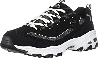 Skechers Women's D'Lites Memory Foam Lace-up Sneaker