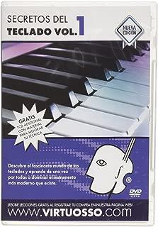 Virtuosso Musical Keyboard Method for Beginners 3 DVD (Curso Completo De Teclados Para Principiantes En 3 DVD) SPANISH ONLY