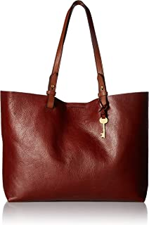 Fossil Rachel Leather 34.29 cms Brown Gym Tote (ZB7311227)