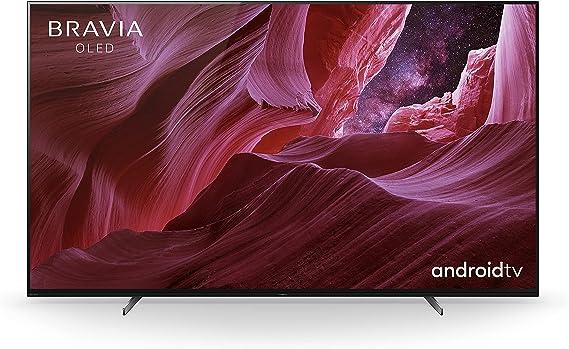 Sony Bravia OLED KE55A8P - TV Smart de 55 pulgadas con 4K Ultra HD, Alto Rango Dinámico (HDR), Android TV, (Modelo exclusivo Amazon, 2021)