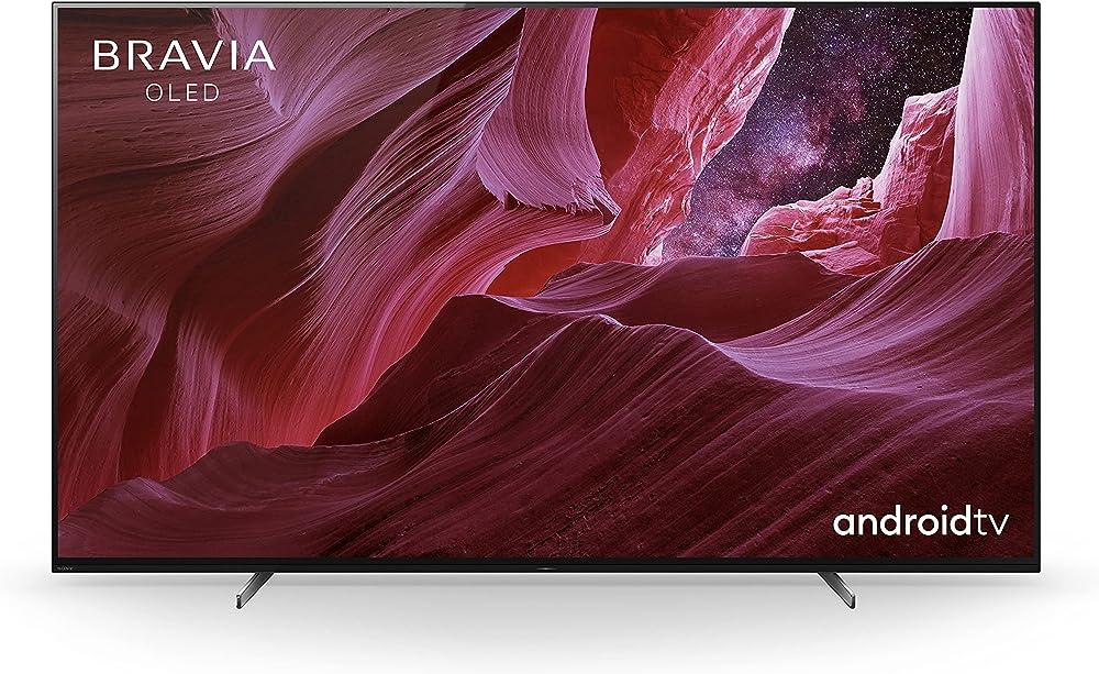 Sony bravia oled smart tv 4k ultra hd 65 pollici hdr con android tv modello esclusivo amazon 2021 KE65A8PBAEP