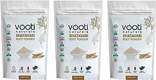 Vooti Naturals SHATAVARI (Asparagus racemosus) Powder 100% Pure 100 gm-Pack of 3