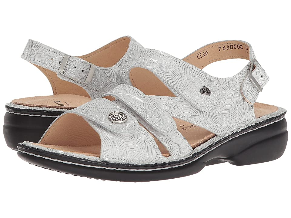Finn Comfort Gomera 82562 (White/Silver) Women