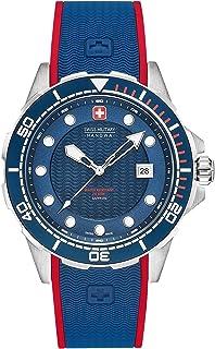 Swiss Military - Reloj Analógico para Hombre de Cuarzo con Correa en Silicona 06-4315.04.003