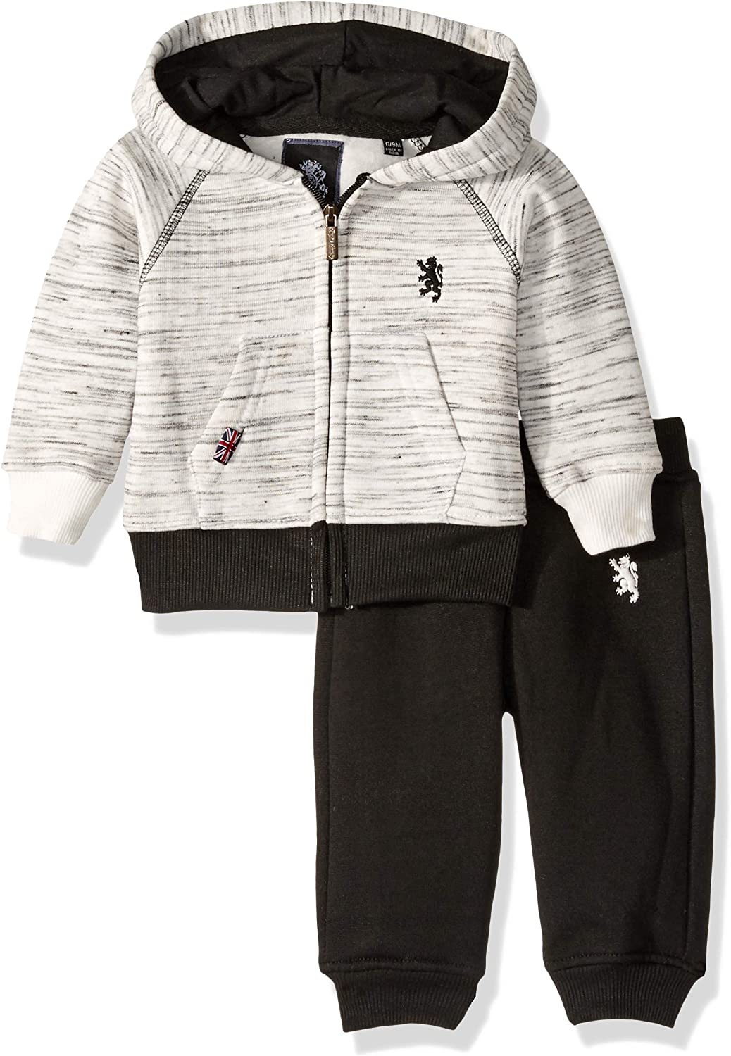 English Laundry baby-boys 2 Piece Hoodie and Jogger Set