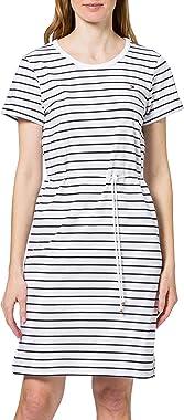 Tommy Hilfiger Th Cool STP C-NK Short Dress SS Robe dcontracte Femme