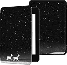 E4DEAL Case for Kindle Paperwhite(10th Generation-2018), Smart Shell Cover with Auto Sleep Wake Feature for Kindle Paperwhite 10th Gen 2018 Released(Deer)