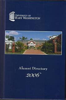 University of Mary Washington Alumni Directory 2006
