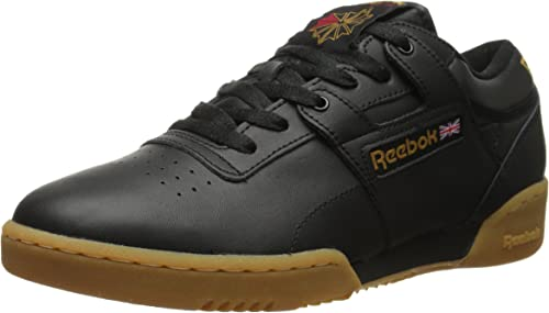 Reebok Men's WORKOUT LOW zapatos, negro Gum, 11 M US