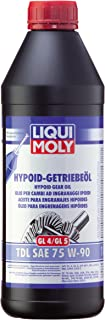 Liqui Moly 1407 Aceite para Engranajes Hipoides, GL4/5 TDL SAE 75W-90, 1 L