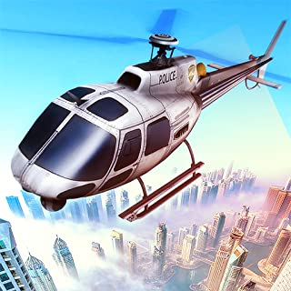 City Police 911 Helicopter on Duty: Rescue Mission Survival Game 3D