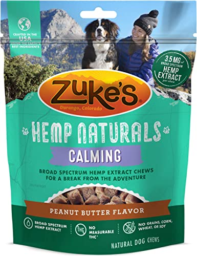 Zuke's Mini Naturals Training Dog Treats and Hemp Naturals Calming Dog Chews