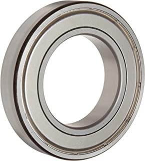 Timken 205KDD Ball Bearing, Double Shielded, No Snap Ring, Metric, 25 mm ID, 52 mm OD, 15 mm Width, Max RPM, 1760 lbs Static Load Capacity, 3600 lbs Dynamic Load Capacity