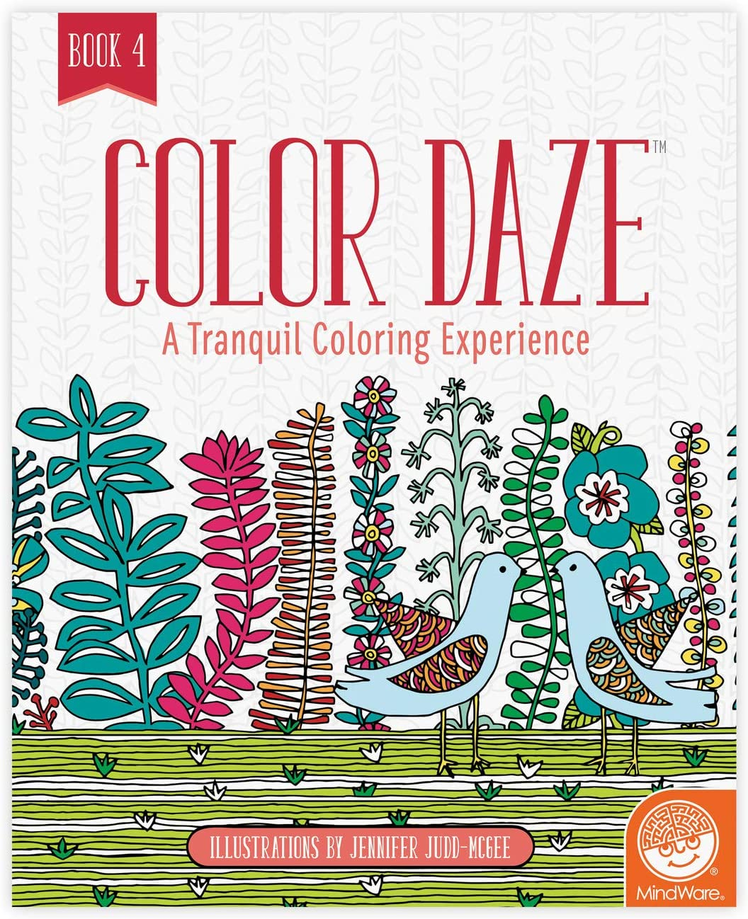 Limited time sale MindWare Color Daze Adult Book Book: 2021 model 4 Coloring